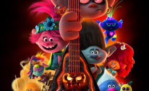 "Poster for the movie ""Trolls World Tour"""