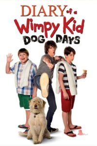 "Poster for the movie ""Diary of a Wimpy Kid: Dog Days"""