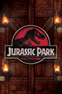 "Poster for the movie ""Jurassic Park"""