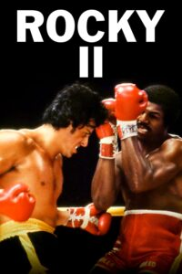 "Poster for the movie ""Rocky II"""
