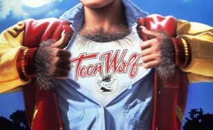 "Poster for the movie ""Teen Wolf"""