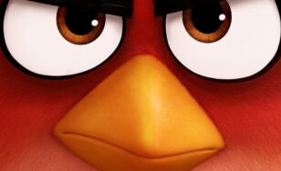 "Poster for the movie ""The Angry Birds Movie"""