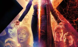 "Poster for the movie ""Dark Phoenix"""