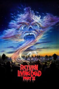 """Poster for the movie """"Return of the Living Dead Part II"""""""