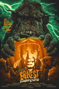 "Poster for the movie ""Ernest Scared Stupid"""
