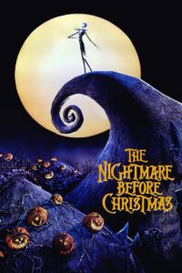 "Poster for the movie ""The Nightmare Before Christmas"""