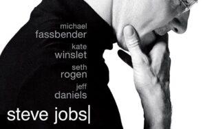 "Poster for the movie ""Steve Jobs"""