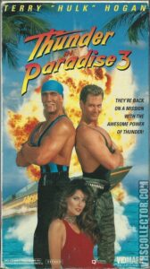 "Poster for the movie ""Thunder in Paradise 3"""