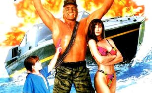 "Poster for the movie ""Thunder in Paradise"""