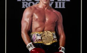 "Poster for the movie ""Rocky III"""