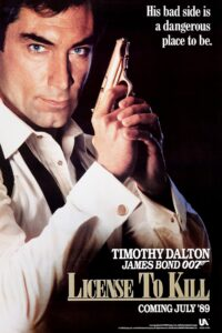 "Poster for the movie ""Licence to Kill"""