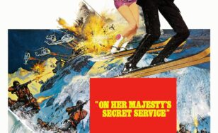 """Poster for the movie """"On Her Majesty's Secret Service"""""""