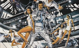 "Poster for the movie ""Moonraker"""
