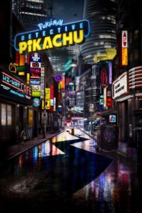"Poster for the movie ""Pokémon Detective Pikachu"""