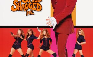 "Poster for the movie ""Austin Powers: The Spy Who Shagged Me"""