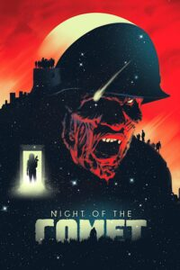 "Poster for the movie ""Night of the Comet"""