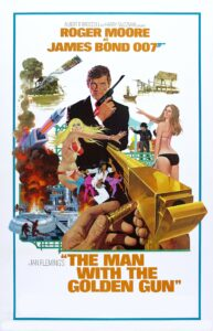 """Poster for the movie """"The Man with the Golden Gun"""""""
