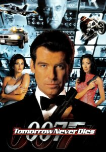 "Poster for the movie ""Tomorrow Never Dies"""
