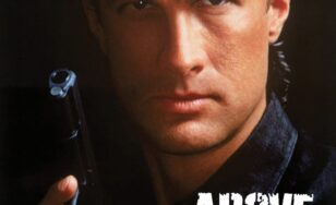"Poster for the movie ""Above the Law"""