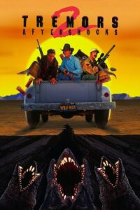 "Poster for the movie ""Tremors 2: Aftershocks"""