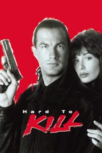 "Poster for the movie ""Hard to Kill"""
