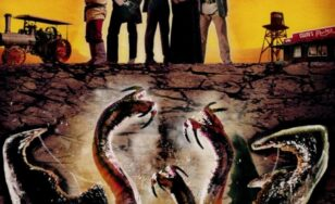 "Poster for the movie ""Tremors 4: The Legend Begins"""