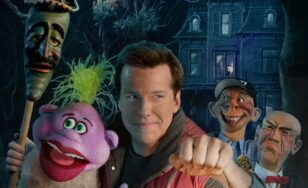 "Poster for the movie ""Jeff Dunham: Minding the Monsters"""