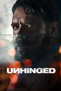 "Poster for the movie ""Unhinged"""