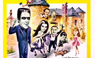"Poster for the movie ""Munster, Go Home!"""