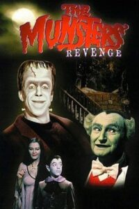 "Poster for the movie ""The Munsters' Revenge"""