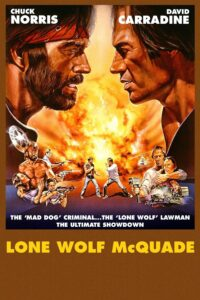 "Poster for the movie ""Lone Wolf McQuade"""