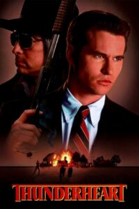"Poster for the movie ""Thunderheart"""