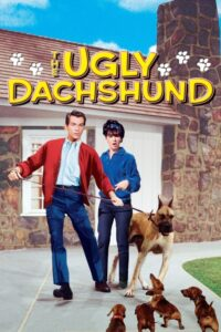 """Poster for the movie """"The Ugly Dachshund"""""""