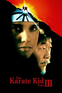 "Poster for the movie ""The Karate Kid Part III"""