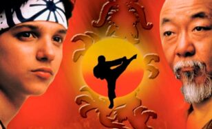 "Poster for the movie ""The Karate Kid Part II"""