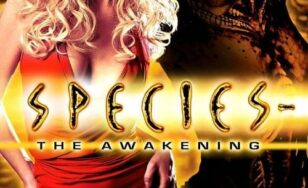 "Poster for the movie ""Species: The Awakening"""