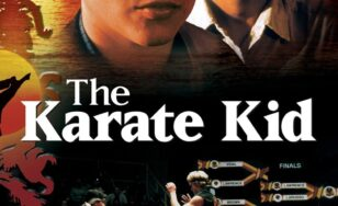 "Poster for the movie ""The Karate Kid"""