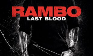 "Poster for the movie ""Rambo: Last Blood"""