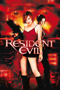 "Poster for the movie ""Resident Evil"""