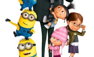 """Poster for the movie """"Despicable Me"""""""