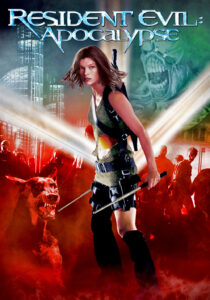 "Poster for the movie ""Resident Evil: Apocalypse"""