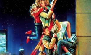 """Poster for the movie """"Adventures in Babysitting"""""""
