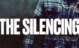 "Poster for the movie ""The Silencing"""