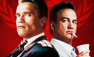 """Poster for the movie """"Red Heat"""""""