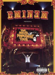 "Poster for the movie ""Eminem: The Anger Management Tour"""