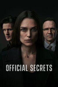 """Poster for the movie """"Official Secrets"""""""
