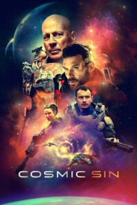 """Poster for the movie """"Cosmic Sin"""""""